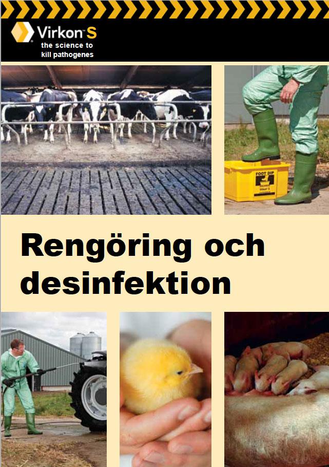 Rengöring och desinfektion
